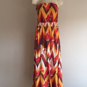 Lucky brand Maxi dress Large